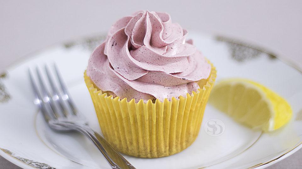Cupcake de Limão Siciliano