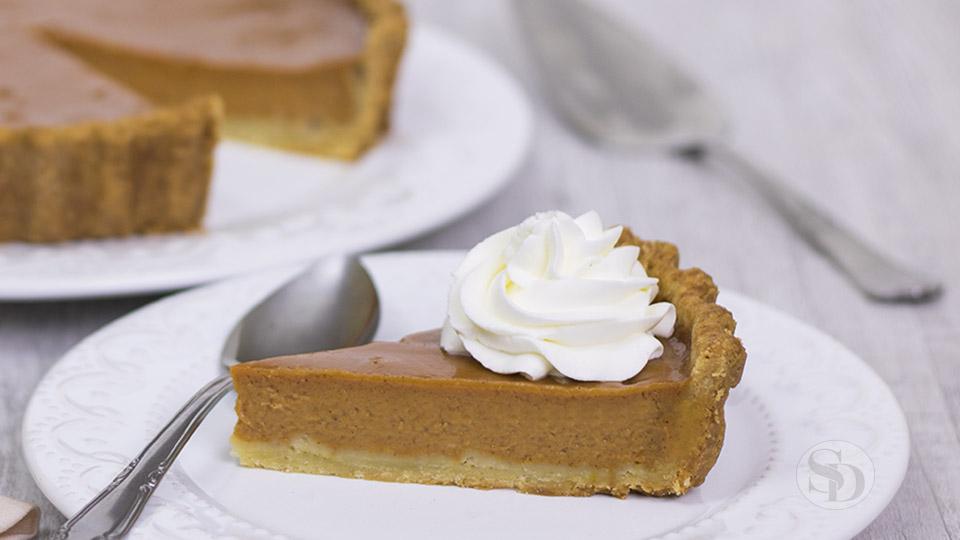 Pumpkin Pie: Torta de Abóbora Tradicional Americana
