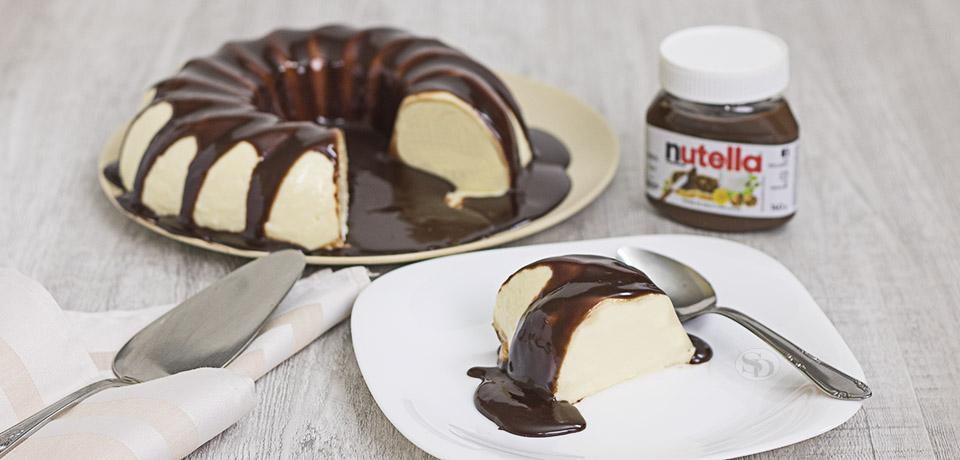 Pudim de Leite Ninho e Nutella